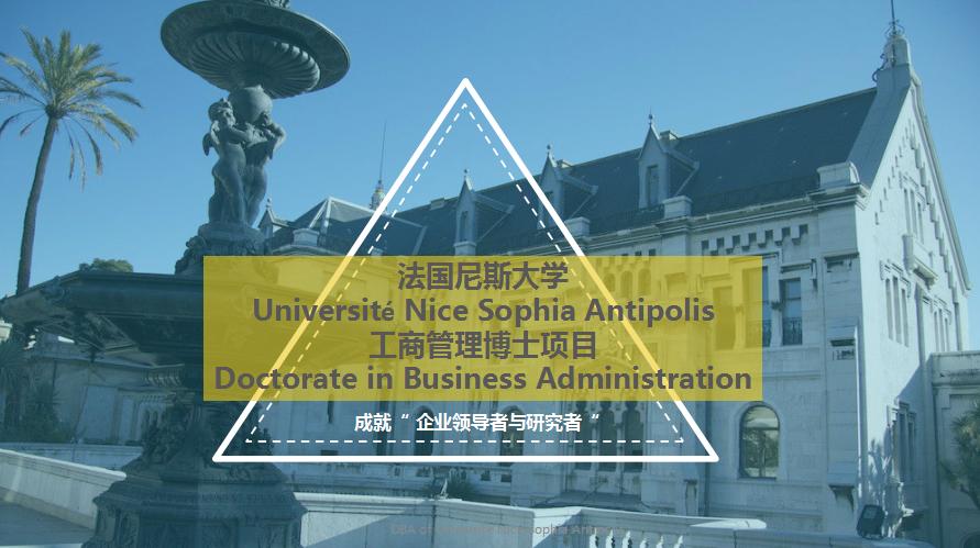 尼斯大学DBA(上海班)